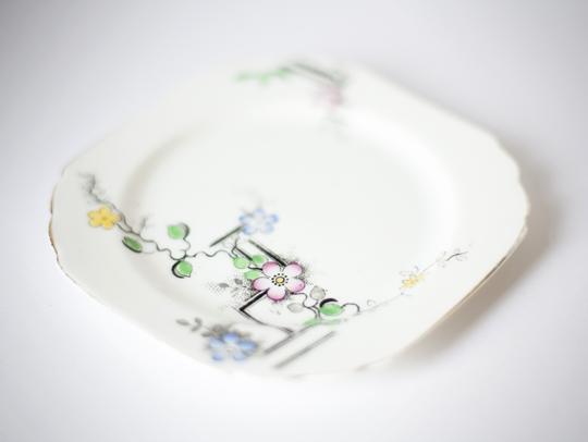 vintage side plate