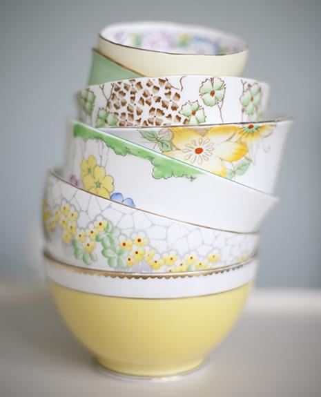 Green and Yellow Bowls